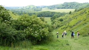 4. North Downs Way - Lyminge Loop